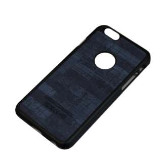iPhone6/6s (4.7) 木目調ハードケース IPC-64BL ブルー