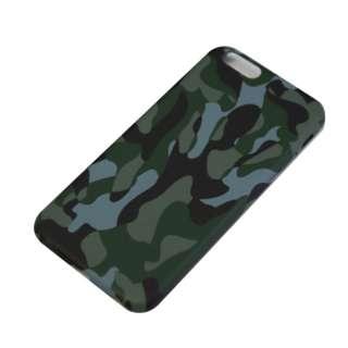 iPhone6/6s (4.7) 迷彩柄ハードケース IPC-66GR グリーン