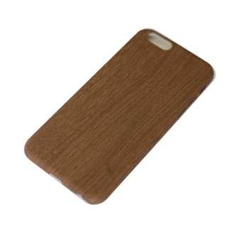 iPhone6/6s (4.7) 木目調ハードケース IPC-70BW ブラウン