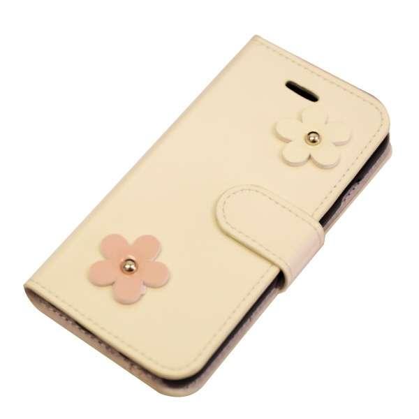 iPhone6/6s (4.7) 手帳型ケース 横開き 花