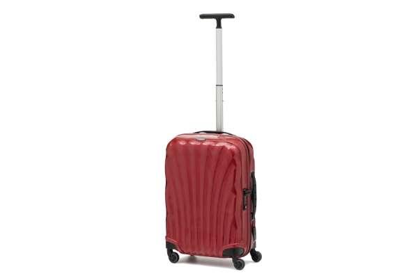 スーツケースのおすすめ11選 サムソナイト「NewCosmolite」レッド(36L)