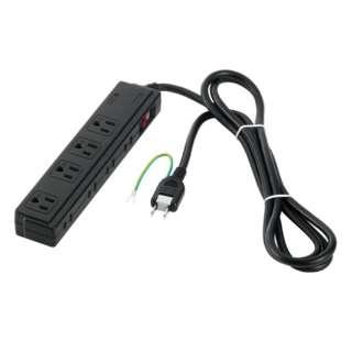 2/3ピン式電源タップ 4+4個口 2m ブラック BCTAPSDC820BK ブラック [2m]