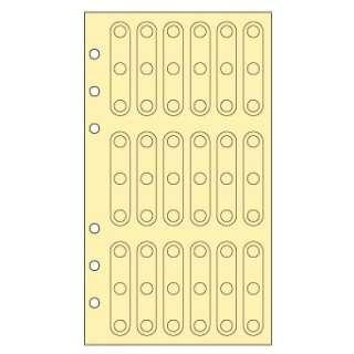 手帳リフィル 補強シール(18片×3シート) WWR327