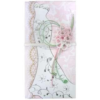 [ドレス金封] 御結婚御祝用 マーメイド DRM-01P ピンク