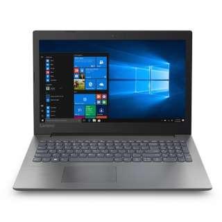 Lenovo ideapad 330 15.6型ノートPC[Office付き・Win10 Home・Celeron・SSD 128GB・メモリ 4GB]2018年8月モデル 81D100J1JP オニキスブラック [intel Celeron]