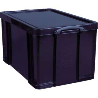 RUP コンテナ Really Useful Box 84L ブラック