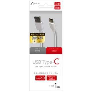 [Type-C]  USBケーブル1MWH