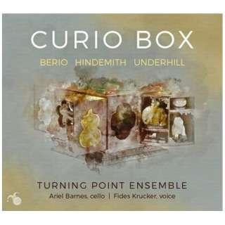 アリエル・バーンズ/ フィデス・クラッカー/ ターニング・ポイント・アンサンブル/ Curio Box 【CD】