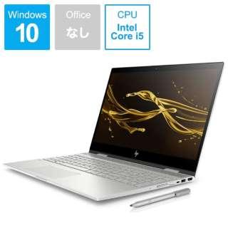 HP ENVY x360 15-cn0005TU ナチュラルシルバー 4QM73PA-AAAA [15.6型 /intel Core i5 /HDD:1TB /SSD:128GB /メモリ:8GB /2018年7月モデル]