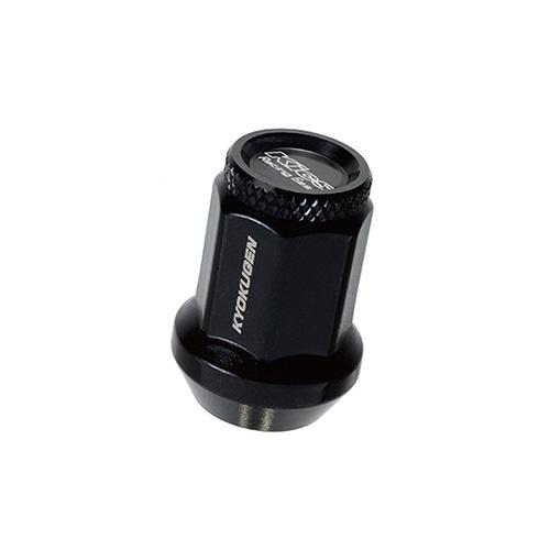 協永産業 HP3KK 極限ナット アルミキャップ付き M1XP1.5 0P 黒色