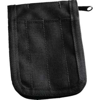 RITR 縦開きノートブック用カバー ブラック(適用サイズ:3X5 3 1/4X