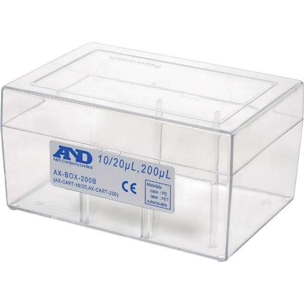A&D 空ボックス(ロックなし)10/20/200μL用