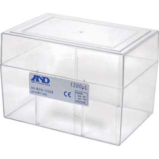 A&D 空ボックス(ロックなし)1200μL用 AX-BOX-1200B