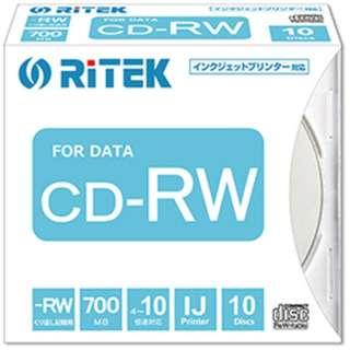 CD-RW700.PW10P A データ用CD-RW [10枚 /700MB /インクジェットプリンター対応]