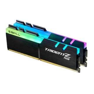 DDR4 3200MHz 16GB×2枚組 F4-3200C16D-32GTZR F4-3200C16D-32GTZR [DIMM DDR4 /16GB /2枚]