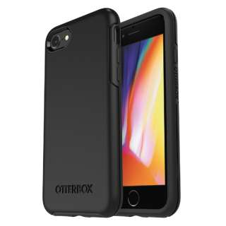 シンメトリーシリーズ for iPhone8/7 Black 77-56669 Black 77-56669 Black