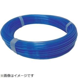 ハッコウ スーパー柔軟フッ素チューブ・クリアブルー 8×12 20M