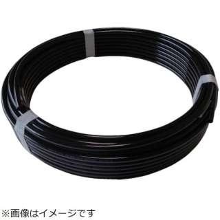 ハッコウ スーパー柔軟フッ素チューブ・ブラック 6mmX8mm 20M