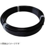 ハッコウ スーパー柔軟フッ素チューブ・ブラック 8mmX12mm 20M