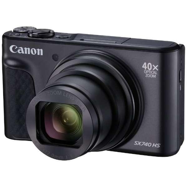 コンパクトデジタルカメラ PowerShot(パワーショット) SX740 HS(ブラック) PSSX740HSBK ブラック