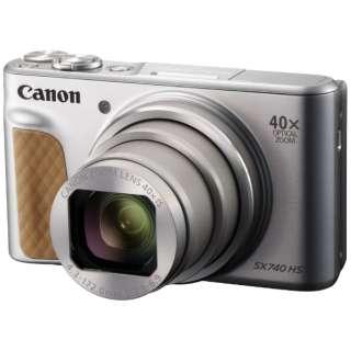 コンパクトデジタルカメラ PowerShot(パワーショット) SX740 HS(シルバー) PSSX740HSSL シルバー