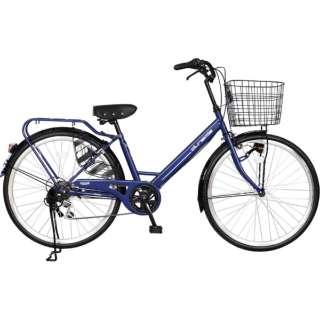 26型 ノーパンク自転車 チャクル(ネイビー/6段変速) FQ_CC266V_HD_BAA_B 【組立商品につき返品不可】