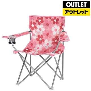 【アウトレット品】 ラウンジチェアtype2  ハッピーフラワー ピンク 【生産完了品】