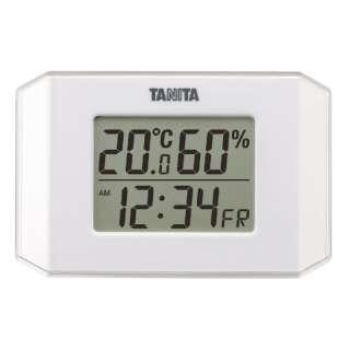 TT-574 温湿度計 ホワイト [デジタル]