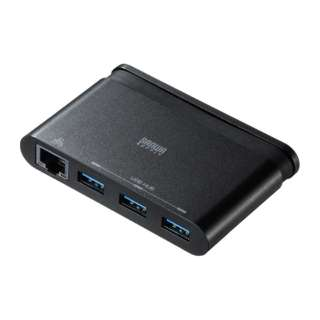 USB-3TCH10BK USBハブ ブラック [USB3.1対応 /3ポート /バスパワー]