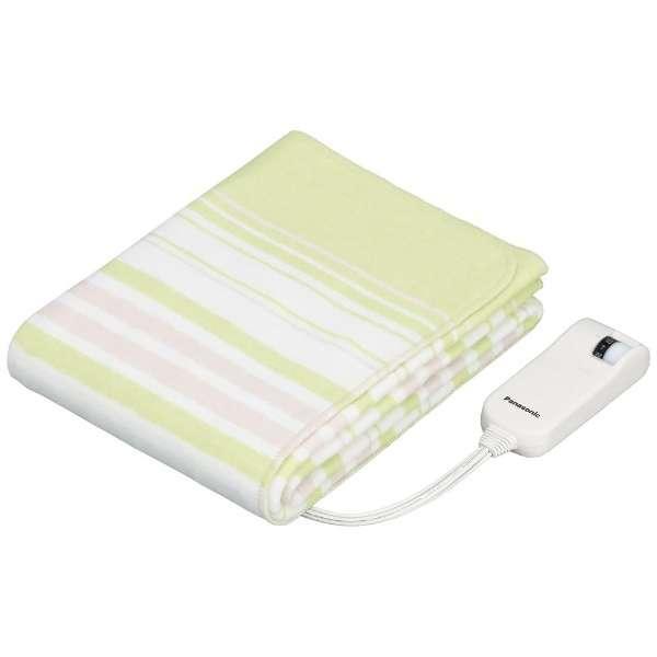 DB-U12T 電気毛布 グリーン [ハーフサイズ /敷毛布]
