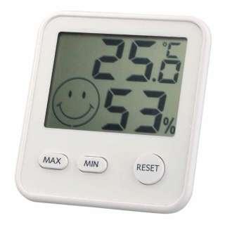 TD-8411 温湿度計 おうちルーム ホワイト [デジタル]