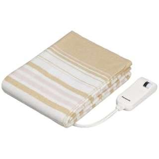 DB-U12T 電気毛布 ベージュ [ハーフサイズ /敷毛布]