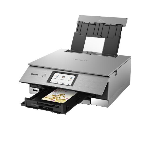 PIXUSXK80 インクジェット複合機 PIXUS(ピクサス) グレー [カード/名刺 A4]