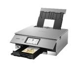XK80 インクジェット複合機 PIXUS(ピクサス) メタリックシルバー [カード/名刺~A4]
