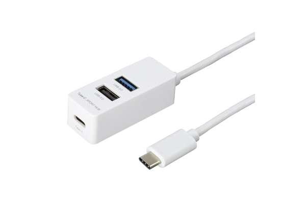 USBハブのおすすめ20選 ナカバヤシ UH-C3123(3ポート/バスパワー)