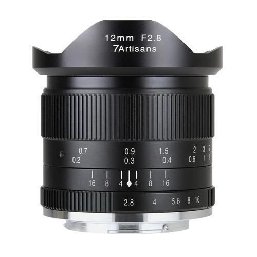 7artisans 12mm F2.8 1228M43B [マイクロフォーサーズ用]
