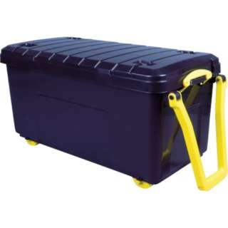 RUP コンテナ Really Useful Wheeled Trunk ブラッ
