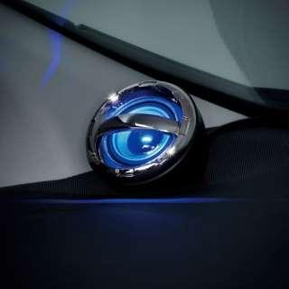 BLUETOOTH4.1車載サウンドセンサースピーカー+給電用含むUSB2ポートDC充電器 BK BT900