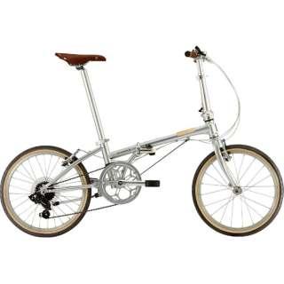 20型 折りたたみ自転車 Boardwalk D7(ブリリアントシルバー/外装7段変速)【2019年モデル】 【組立商品につき返品不可】