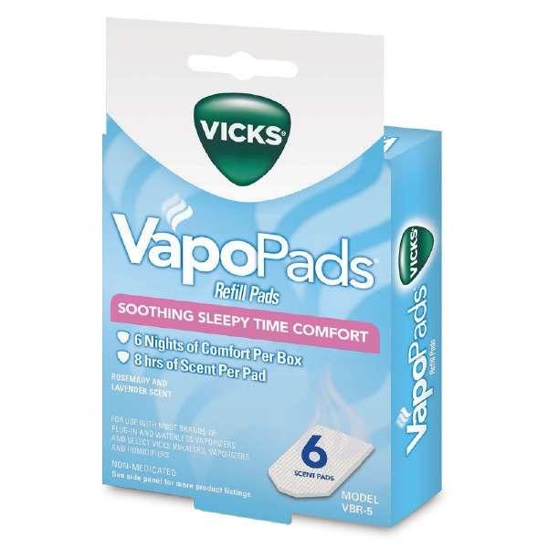 VICKS蒸气加湿器专用的芳香垫衬VBR5A