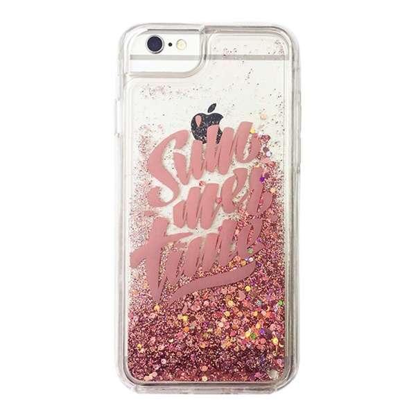 iPhone8/7  リキッドケース POWER SW-LI7-003 ピンク