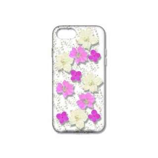 iPhone8/7 (4.7) 押し花ケース bloom DEPF-I7S-002 ピンク