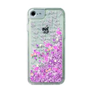 iPhone8/7  リキッドケース flamingo SW-LI7-009 フラミンゴ