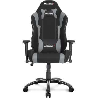 Wolf Gaming Chair (Grey) WOLF-GREY AKRWOLFGREY グレー