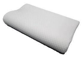 シンプルホーム モールド低反発枕(30×50×7-10cm)