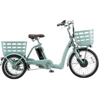 20型 電動アシスト自転車 フロンティア ラクットワゴン(P.X ミスティミント) FW0B49 《両輪駆動》 【組立商品につき返品不可】