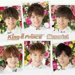 King & Prince/ Memorial 通常盤 【CD】