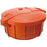 電子レンジ用圧力鍋 パンプキンオレンジ MPC2.3