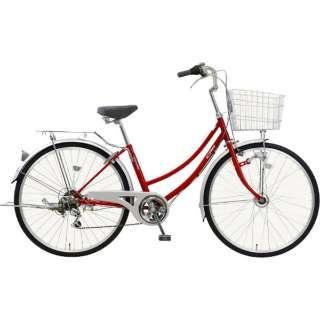 26型 自転車 CPH(レッド/6段変速) MK-18-050【2019年モデル】 【組立商品につき返品不可】