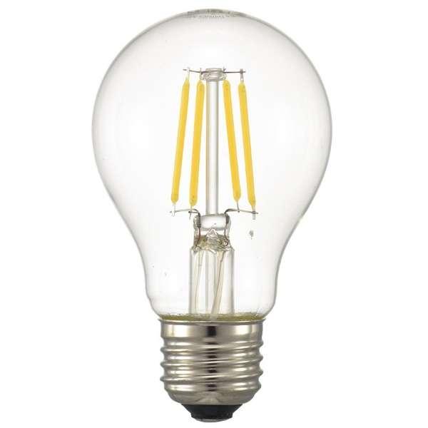 LDA4L C6 LEDフィラメント電球 クリア [E26 /電球色 /1個 /40W相当 /一般電球形 /全方向タイプ]